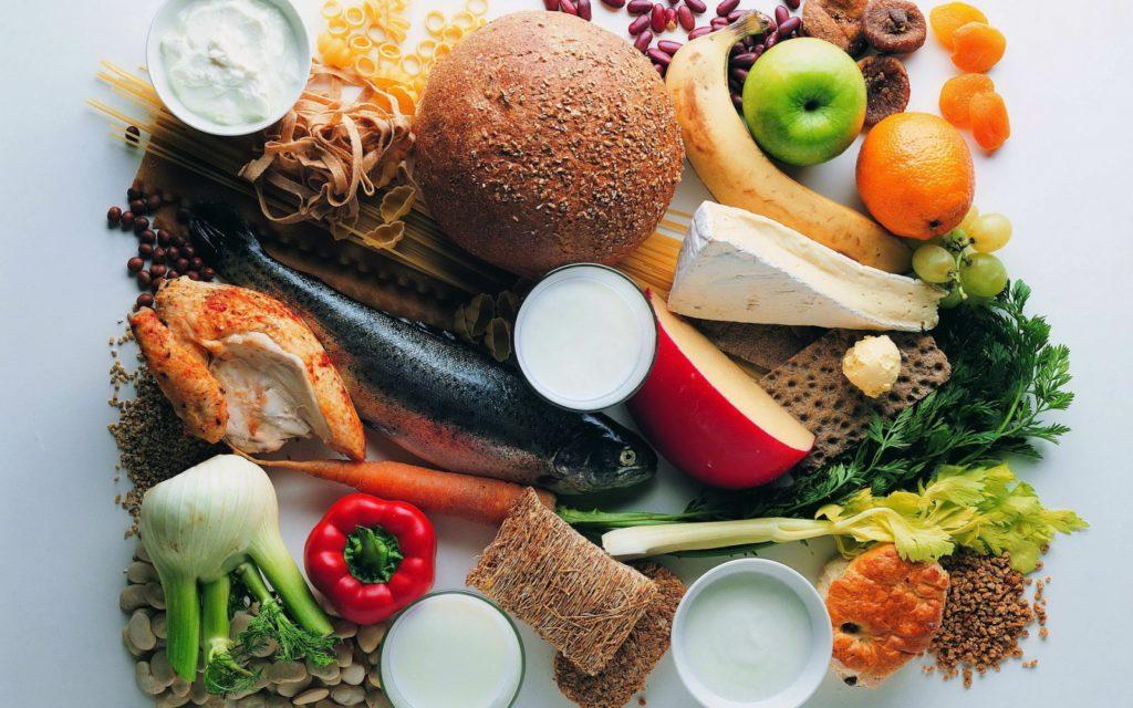 Разнообразная еда
