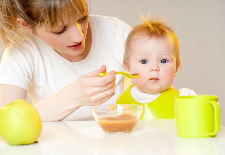 Питание ребенка в 8 месяцев при грудном вскармливании
