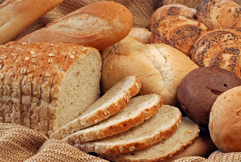 Разные сорта хлеба