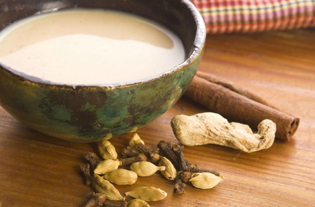 Молочный калмыцкий чай