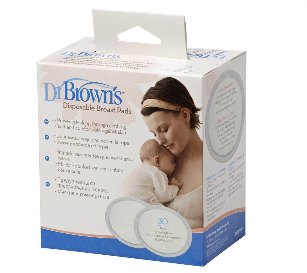 Прокладки для груди Dr. Browns