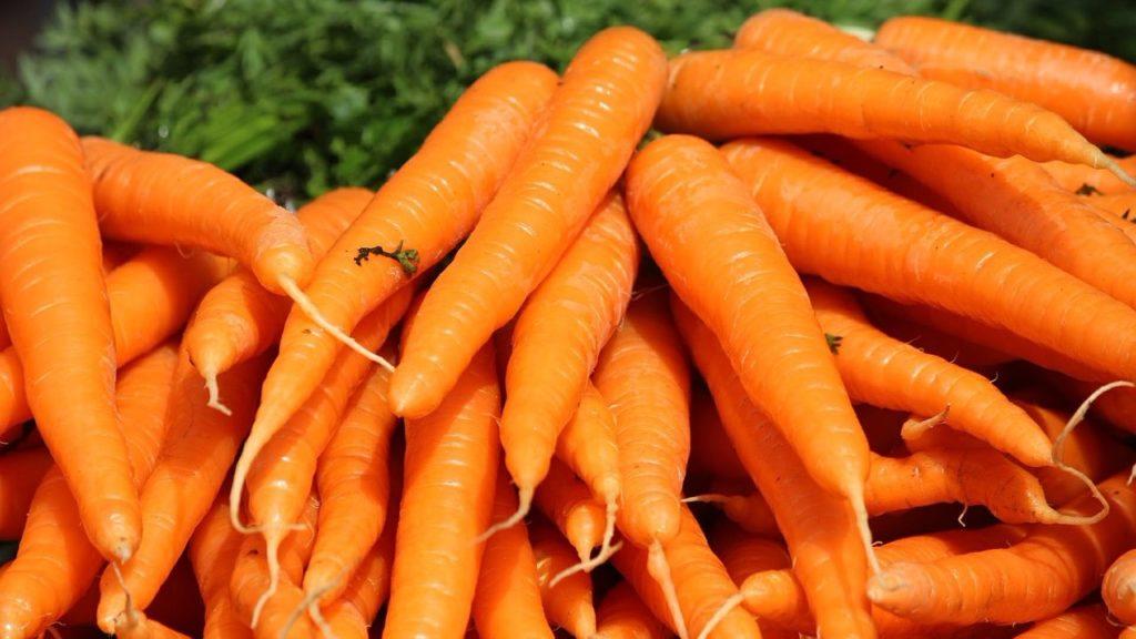 Связки моркови