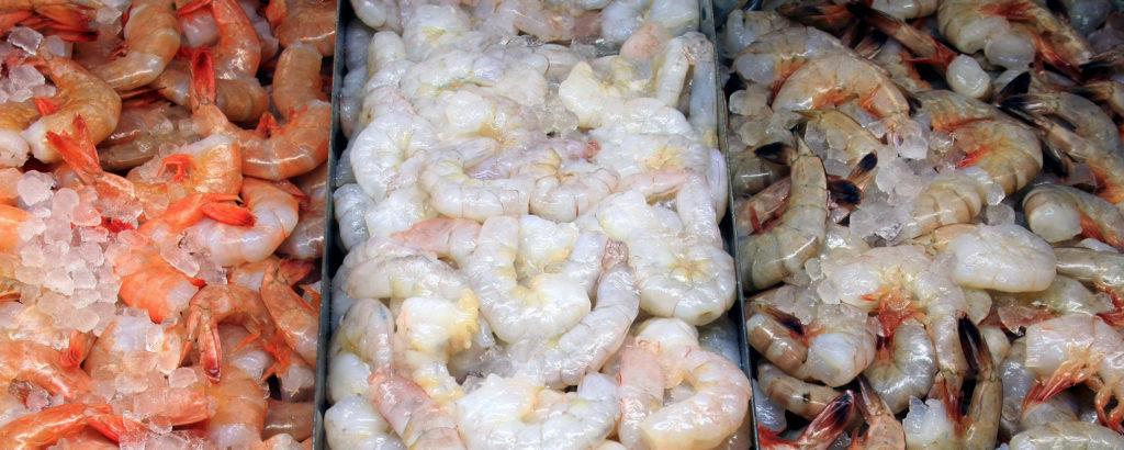 Креветки замороженные